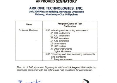 Ark One Technologies Inc. ISO IEC_17025 2005 Certificates-02